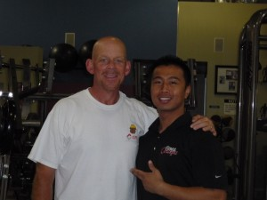 Burr Northrop-After with Fitness Concept Trainer Sherwin