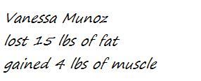 vanessa munoz stats Tally up your votes!!